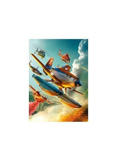 Disney Planes-2 50x70 cm Kanvas Tablo Renkli